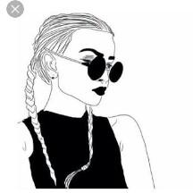 cool evil girl 😈